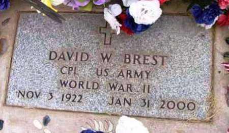 BREST, DAVID W. - Yavapai County, Arizona | DAVID W. BREST - Arizona Gravestone Photos