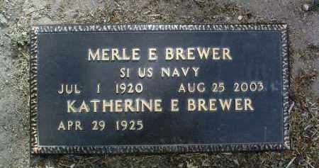 PERRYMAN BREWER, KATHERINE E. - Yavapai County, Arizona | KATHERINE E. PERRYMAN BREWER - Arizona Gravestone Photos