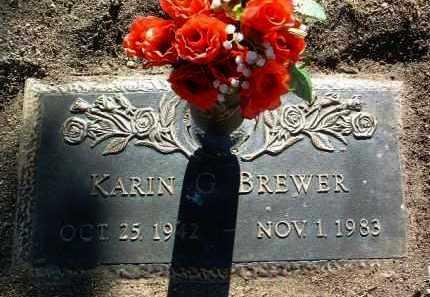 FELT BREWER, KARIN G. - Yavapai County, Arizona   KARIN G. FELT BREWER - Arizona Gravestone Photos