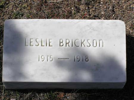 BRICKSON, LESLIE - Yavapai County, Arizona | LESLIE BRICKSON - Arizona Gravestone Photos