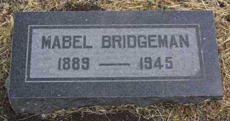 BRIDGEMAN, MABEL WILLIE - Yavapai County, Arizona | MABEL WILLIE BRIDGEMAN - Arizona Gravestone Photos