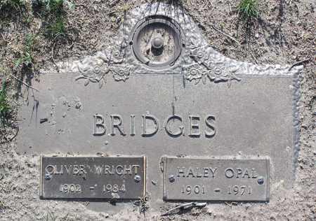 BRIDGES, OLIVER WRIGHT - Yavapai County, Arizona | OLIVER WRIGHT BRIDGES - Arizona Gravestone Photos