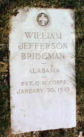 BRIDGMAN, WILLIAM J. - Yavapai County, Arizona | WILLIAM J. BRIDGMAN - Arizona Gravestone Photos