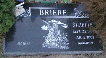 BRIERE, SUZETTE - Yavapai County, Arizona | SUZETTE BRIERE - Arizona Gravestone Photos