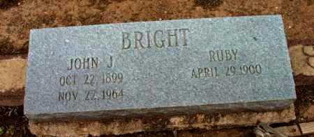 BRIGHT, RUBY SCARLOT - Yavapai County, Arizona   RUBY SCARLOT BRIGHT - Arizona Gravestone Photos