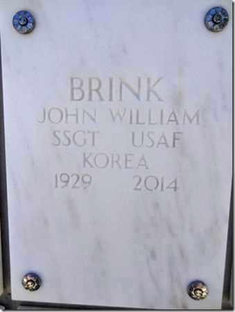 BRINK, JOHN WILLIAM - Yavapai County, Arizona | JOHN WILLIAM BRINK - Arizona Gravestone Photos
