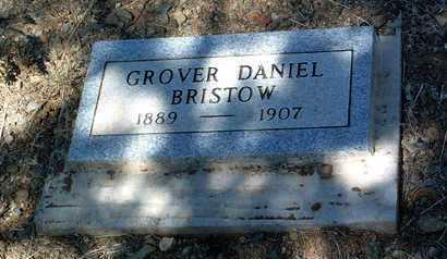 BRISTOW, GROVER DANIEL - Yavapai County, Arizona | GROVER DANIEL BRISTOW - Arizona Gravestone Photos