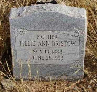 BRISTOW, TILLIE ANN - Yavapai County, Arizona | TILLIE ANN BRISTOW - Arizona Gravestone Photos