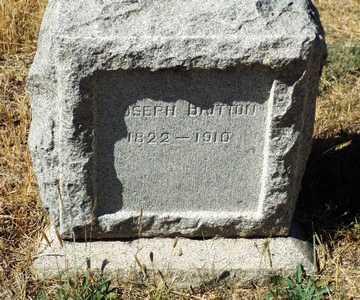 BRITTON, JOSEPH - Yavapai County, Arizona | JOSEPH BRITTON - Arizona Gravestone Photos