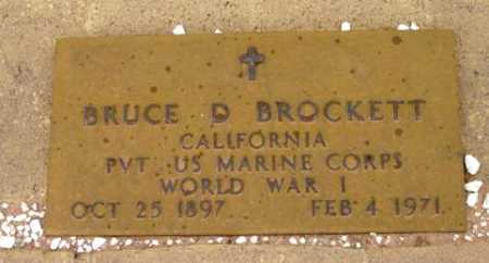 BROCKETT, BRUCE DOUGLAS - Yavapai County, Arizona | BRUCE DOUGLAS BROCKETT - Arizona Gravestone Photos
