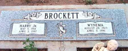 BROCKETT, WYNEMA - Yavapai County, Arizona   WYNEMA BROCKETT - Arizona Gravestone Photos