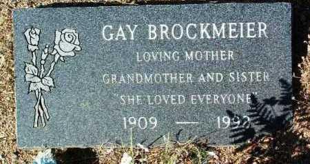 BROCKMEIER, GAY A. - Yavapai County, Arizona   GAY A. BROCKMEIER - Arizona Gravestone Photos