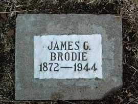 BRODIE, JAMES C. - Yavapai County, Arizona | JAMES C. BRODIE - Arizona Gravestone Photos