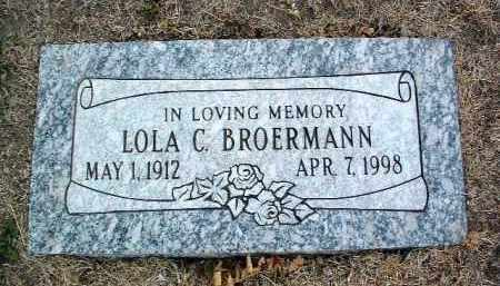 BROERMANN, LOLA C. - Yavapai County, Arizona | LOLA C. BROERMANN - Arizona Gravestone Photos