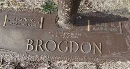 BROGDON, ELSIE NAOMI - Yavapai County, Arizona   ELSIE NAOMI BROGDON - Arizona Gravestone Photos