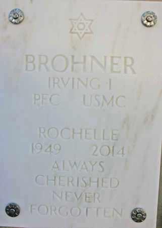 BROHNER, IRVING I. - Yavapai County, Arizona | IRVING I. BROHNER - Arizona Gravestone Photos