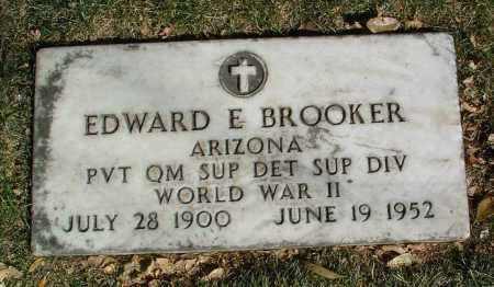 BROOKER, EDWARD E. - Yavapai County, Arizona | EDWARD E. BROOKER - Arizona Gravestone Photos