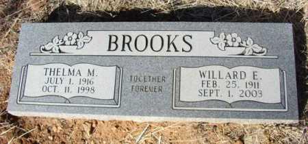 BROOKS, WILLARD EDWARD - Yavapai County, Arizona   WILLARD EDWARD BROOKS - Arizona Gravestone Photos