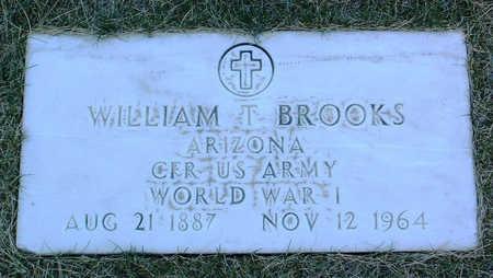 BROOKS, WILLIAM T. - Yavapai County, Arizona | WILLIAM T. BROOKS - Arizona Gravestone Photos