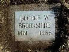 BROOKSHIRE, GEORGE WILLIAM - Yavapai County, Arizona   GEORGE WILLIAM BROOKSHIRE - Arizona Gravestone Photos