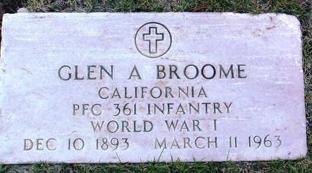 BROOME, GLEN A. - Yavapai County, Arizona | GLEN A. BROOME - Arizona Gravestone Photos