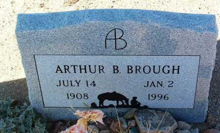 BROUGH, ARTHUR B. - Yavapai County, Arizona   ARTHUR B. BROUGH - Arizona Gravestone Photos