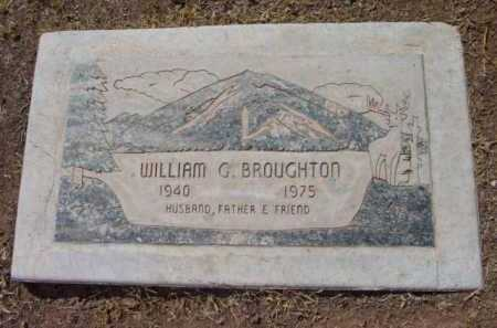 BROUGHTON, WILLIAM GLENN - Yavapai County, Arizona | WILLIAM GLENN BROUGHTON - Arizona Gravestone Photos