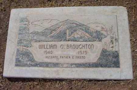 BROUGHTON, WILLIAM GLENN - Yavapai County, Arizona   WILLIAM GLENN BROUGHTON - Arizona Gravestone Photos