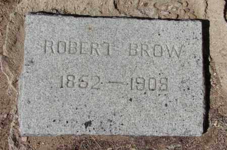 BROW, ROBERT - Yavapai County, Arizona | ROBERT BROW - Arizona Gravestone Photos
