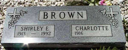 BROWN, CHARLOTTE - Yavapai County, Arizona | CHARLOTTE BROWN - Arizona Gravestone Photos