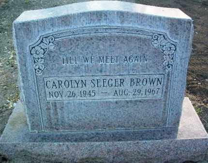 BROWN, CAROLYN M. - Yavapai County, Arizona | CAROLYN M. BROWN - Arizona Gravestone Photos