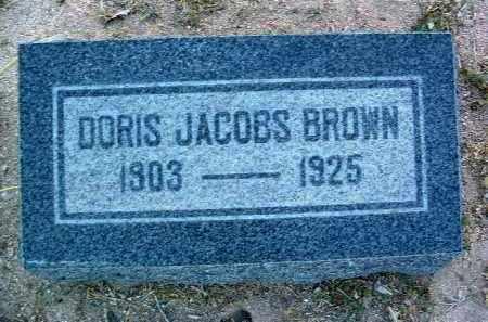 BROWN, DORIS - Yavapai County, Arizona   DORIS BROWN - Arizona Gravestone Photos