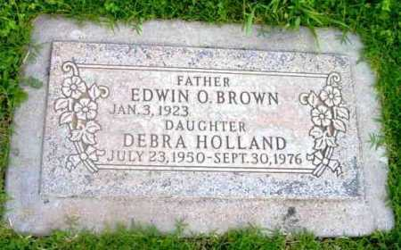 BROWN, EDWIN O. - Yavapai County, Arizona | EDWIN O. BROWN - Arizona Gravestone Photos