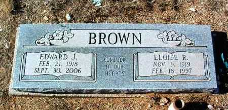 BROWN, EDWARD JAMES - Yavapai County, Arizona | EDWARD JAMES BROWN - Arizona Gravestone Photos
