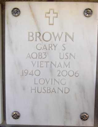 BROWN, GARY SHUMWAY - Yavapai County, Arizona   GARY SHUMWAY BROWN - Arizona Gravestone Photos
