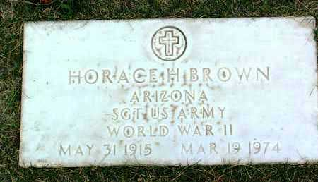 BROWN, HORACE H. - Yavapai County, Arizona | HORACE H. BROWN - Arizona Gravestone Photos