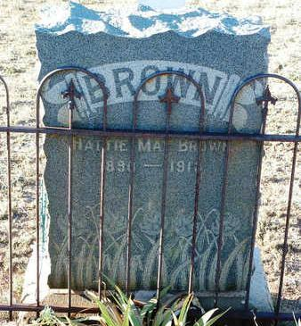 BROWN, HATTIE MAE - Yavapai County, Arizona | HATTIE MAE BROWN - Arizona Gravestone Photos