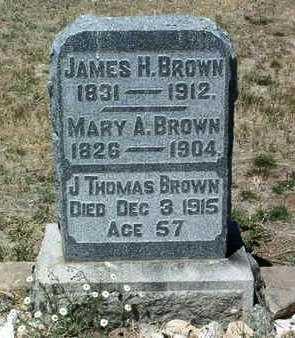 BROWN, JAMES THOMAS - Yavapai County, Arizona   JAMES THOMAS BROWN - Arizona Gravestone Photos