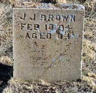 BROWN, JOHN J. - Yavapai County, Arizona | JOHN J. BROWN - Arizona Gravestone Photos