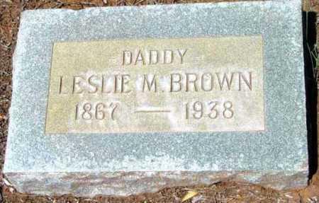 BROWN, LESLIE M. - Yavapai County, Arizona | LESLIE M. BROWN - Arizona Gravestone Photos
