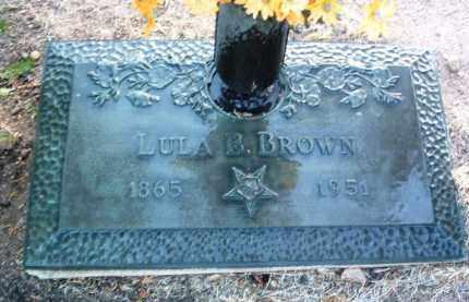 STEPHENS BROWN, LULA BELLE - Yavapai County, Arizona | LULA BELLE STEPHENS BROWN - Arizona Gravestone Photos