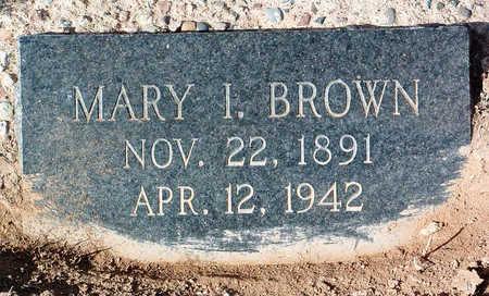 BROWN, MARY ISABELLE - Yavapai County, Arizona | MARY ISABELLE BROWN - Arizona Gravestone Photos
