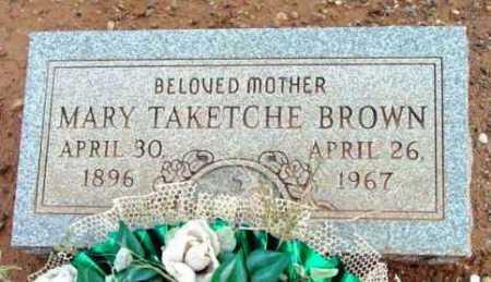 BROWN, MARY - Yavapai County, Arizona | MARY BROWN - Arizona Gravestone Photos