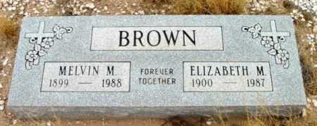 BROWN, MELVIN MURDIAN - Yavapai County, Arizona | MELVIN MURDIAN BROWN - Arizona Gravestone Photos