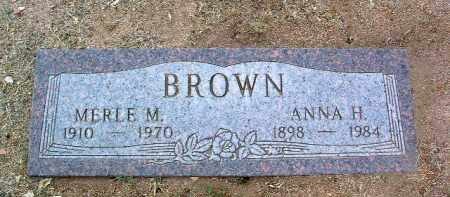 BROWN, MERLE MORRIS - Yavapai County, Arizona | MERLE MORRIS BROWN - Arizona Gravestone Photos