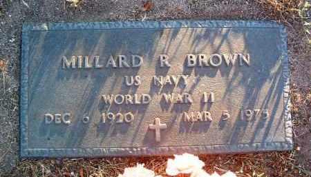 BROWN, MILLARD R. - Yavapai County, Arizona   MILLARD R. BROWN - Arizona Gravestone Photos