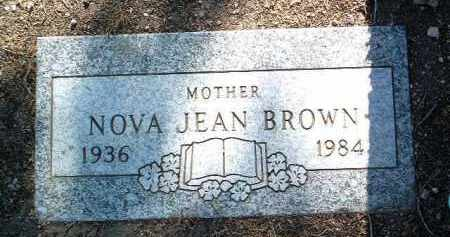 DICKINSON BROWN, NOVA JEAN - Yavapai County, Arizona | NOVA JEAN DICKINSON BROWN - Arizona Gravestone Photos