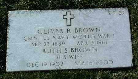 BROWN, OLIVER R. - Yavapai County, Arizona | OLIVER R. BROWN - Arizona Gravestone Photos