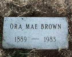 BROWN, ORA MAE - Yavapai County, Arizona | ORA MAE BROWN - Arizona Gravestone Photos