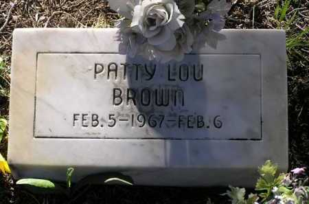 BROWN, PATTY LOU - Yavapai County, Arizona | PATTY LOU BROWN - Arizona Gravestone Photos